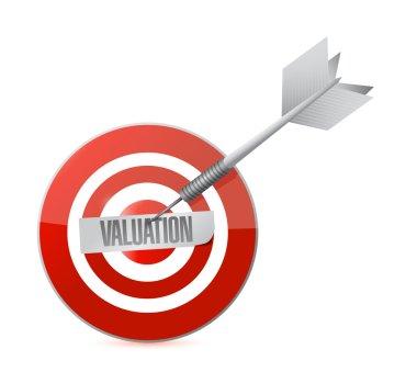 valuation target illustration design