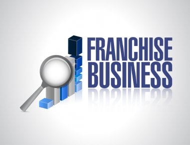 franchise business graph sign