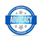 Fotografie advocacy seal sign concept illustration
