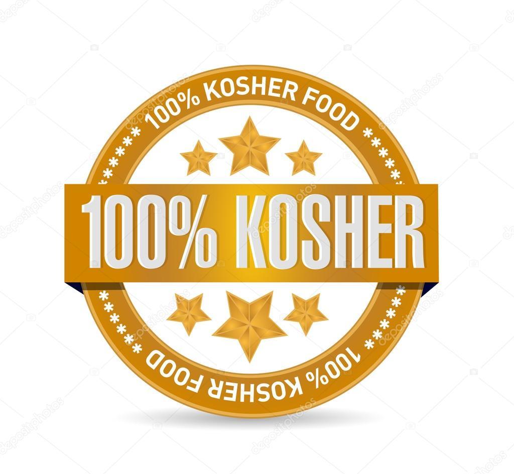 Logo 100% kosher