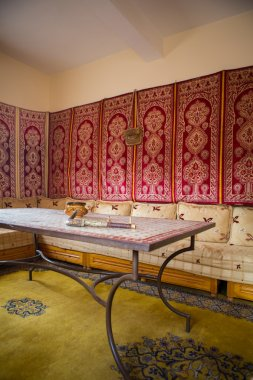 Colourful Classical Moroccan Interior