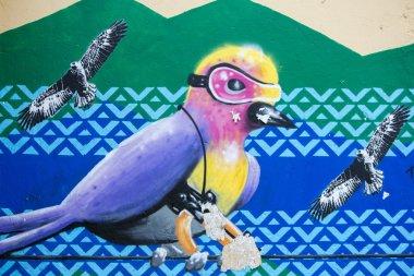 Graffiti and Street art in Bogota
