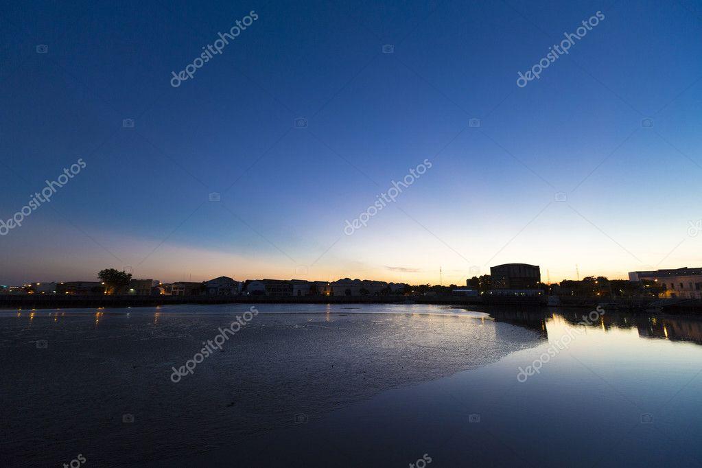 Sunset on La Boca, Buenos Aires