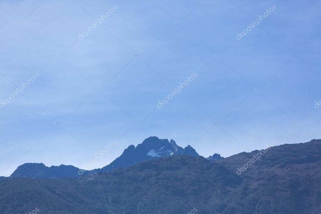 Landschaft Der Berge In Merida Venezuela Stockfoto C Piccaya