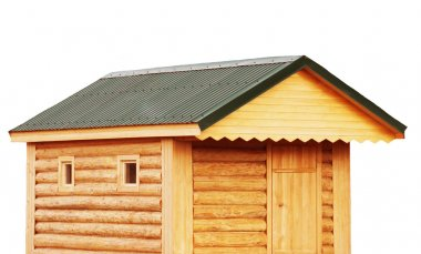 Tool shed, new log cabin to backyard or utility storage barn