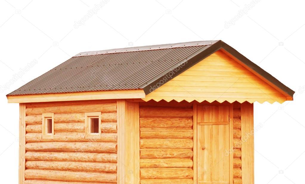 Tool Shed, New Log Cabin To Backyard Or Utility Storage Barn   Isolate U2014  Stock