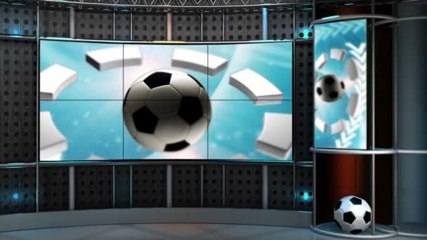 Virtual sada sport Hd video na pozadí