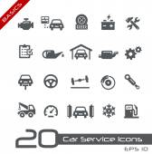 Photo Car Service Icons -- Basics