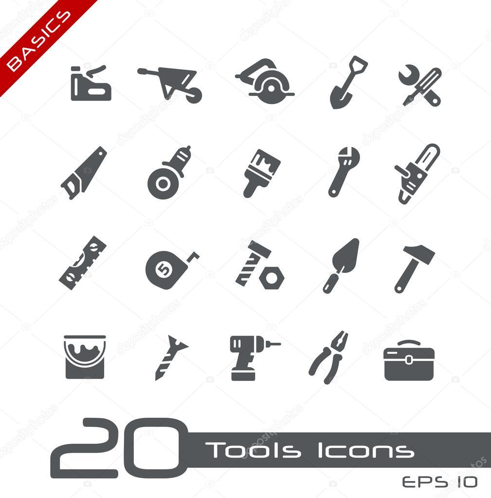 Tools Icons -- Basics
