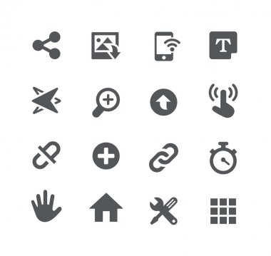 System Icons -- Apps Interface