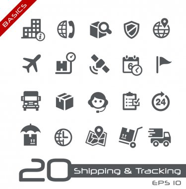 Shipping and Tracking Icons -- Basics