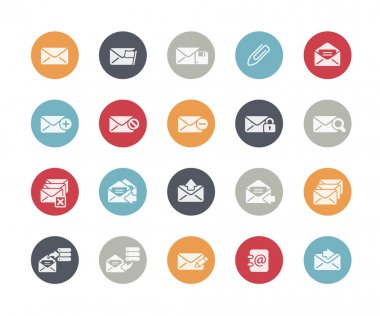 E-mail Icons Set Classics Series
