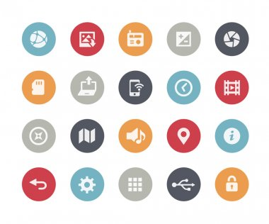 Web and Mobile Icons 5 -- Classics Series