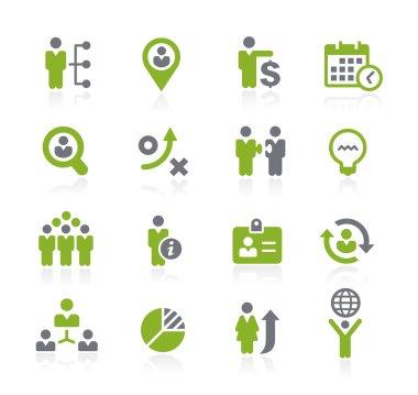 Human Resources Icons -- Natura Series