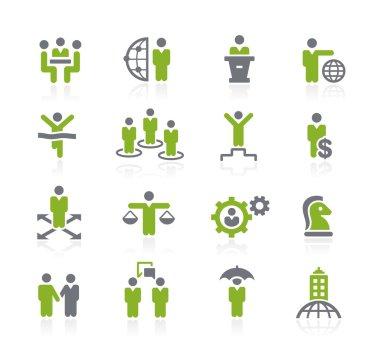 Business Success Icons -- Natura Series