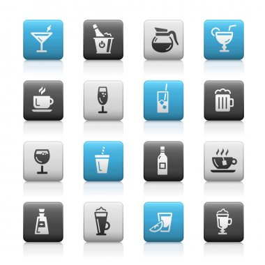 Drinks Icons - Matte Series