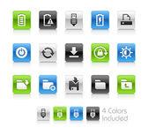 Webové a mobilní ikony 3 – čistá série