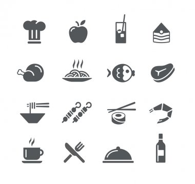 Food Icons 2 -- Utility Series