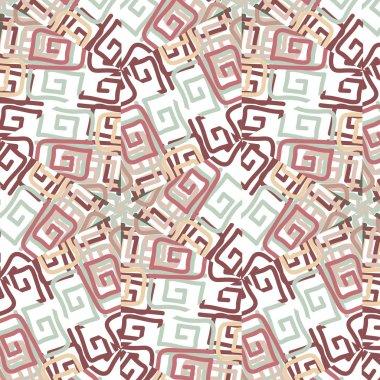 vintage color ethnic ornament  pattern flower