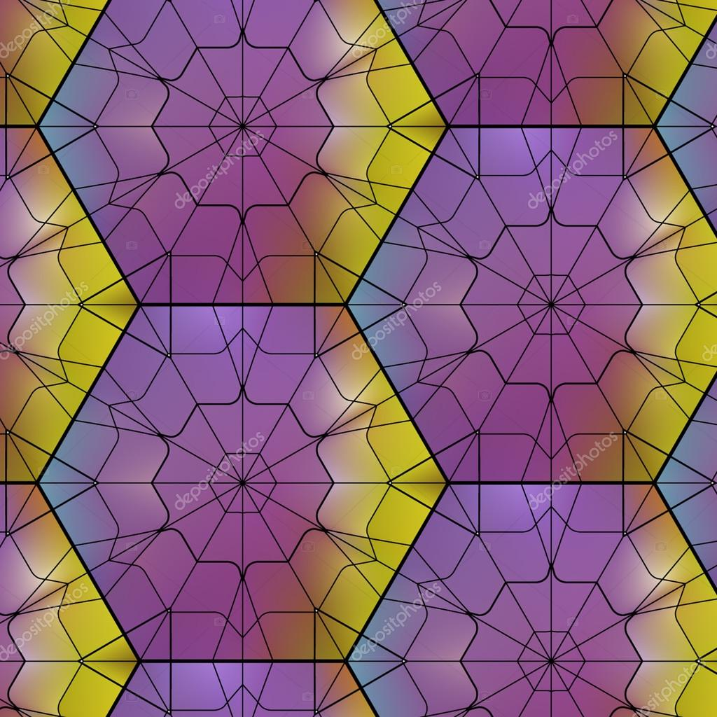 Seamless gemstone pattern