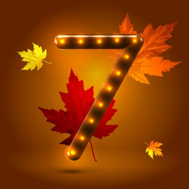 Numeral 7 figure