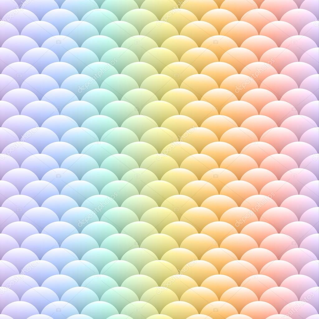 Rainbow pastel seamless background — Stock Vector ...