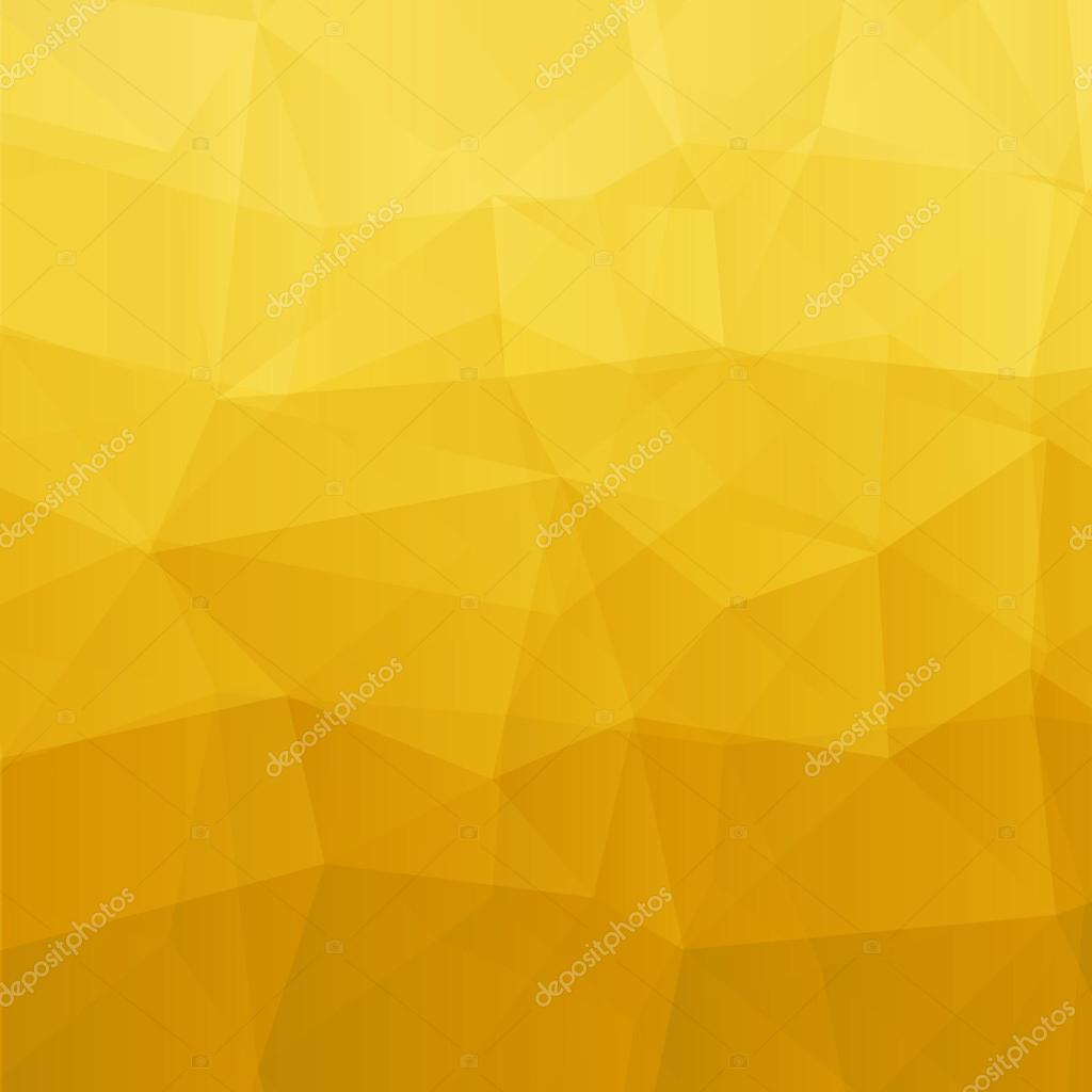 Abstract yellow background. Vector illustration
