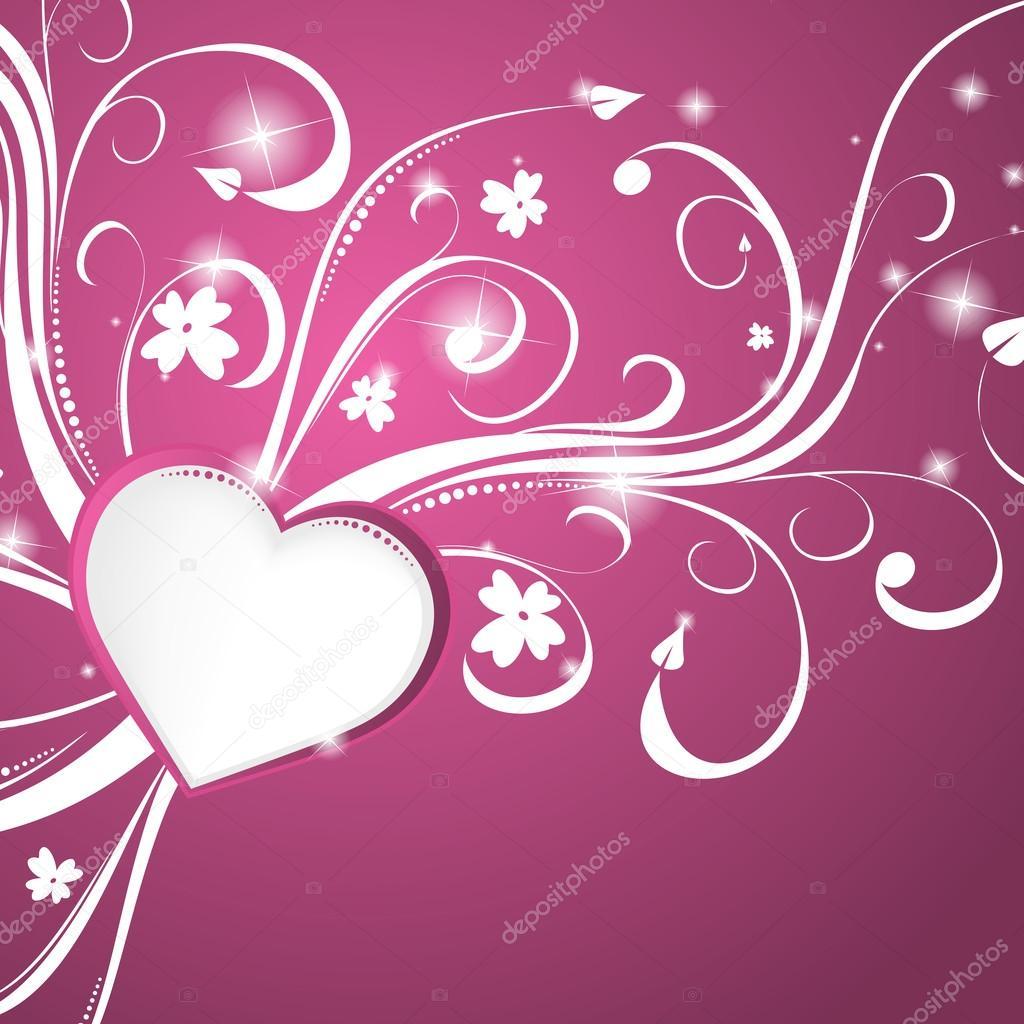 unscrew beautiful pink heart background vector illustration clip art unscrew voltagebd Images