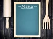 Kuchyňské náčiní a menu