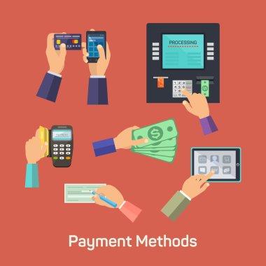 Vector possibilities of payment methods