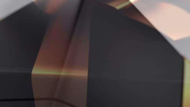 Vybalení darem krásné 3d animace