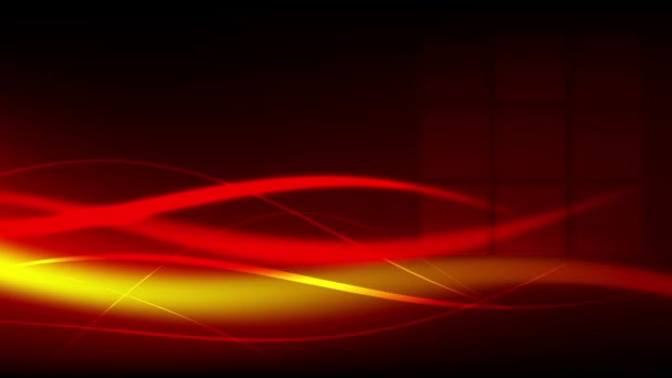 Ladným pohybem barevné vlny vytváří abstraktní pozadí