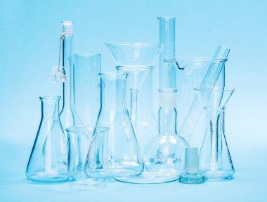 Various laboratory glassware