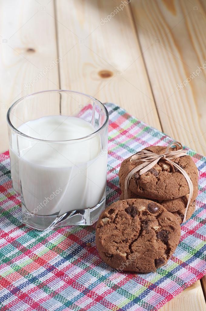 Все будет, открытка молоко с печеньем