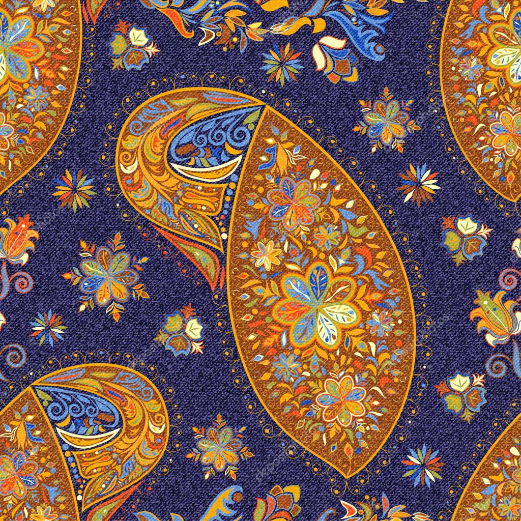 paisley vintage motif floral sans soudure ethnique image vectorielle glasscuter 105047688. Black Bedroom Furniture Sets. Home Design Ideas