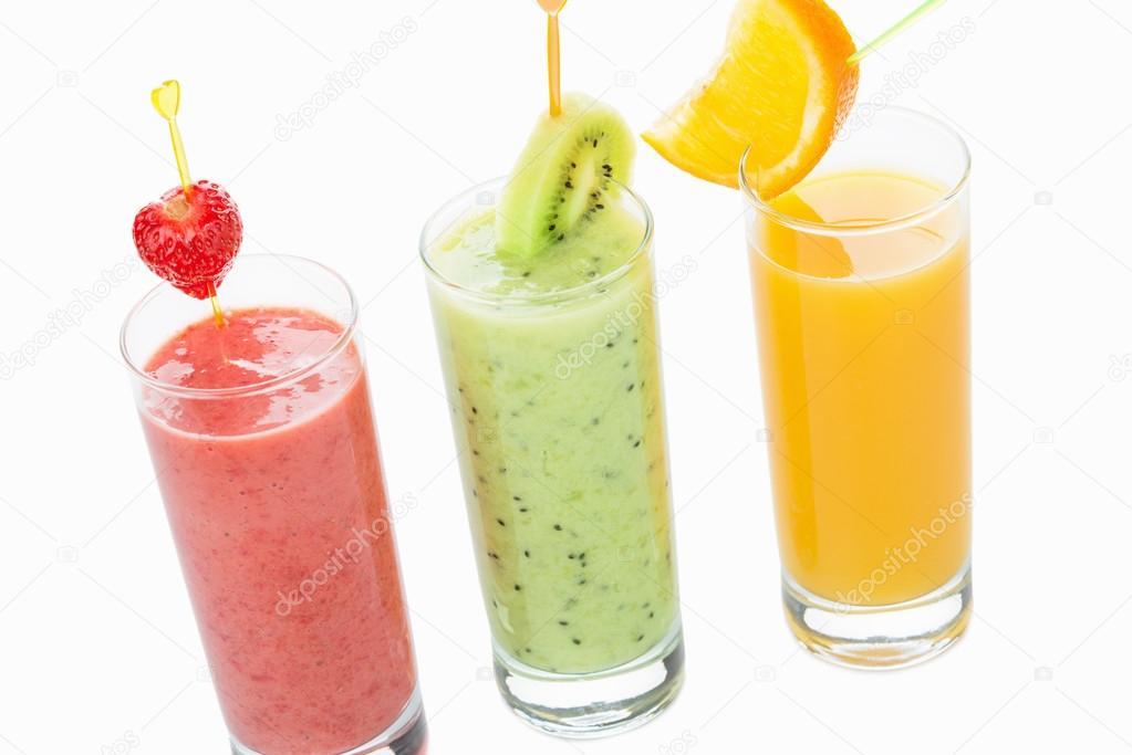 drei gesunde Bio-Getränke — Stockfoto © ultramarine #75542141