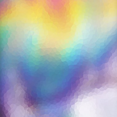 Mosaic holographic texture