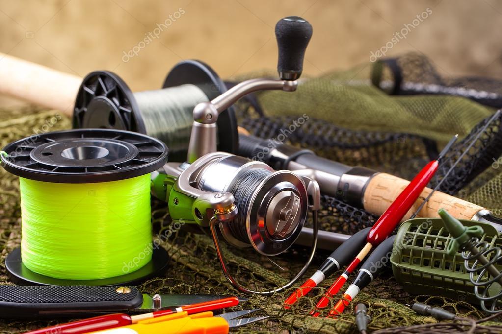 Рыболовные снасти на английском
