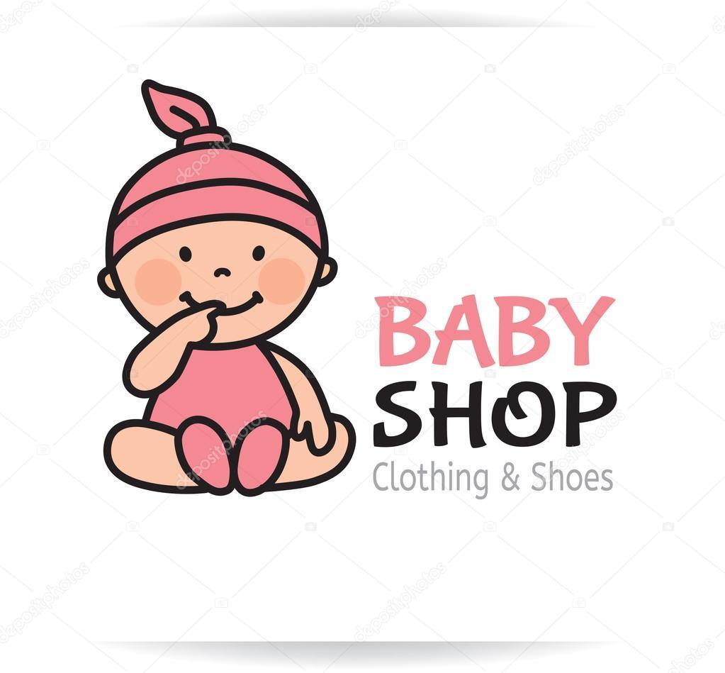logo de magasin b b image vectorielle pinkkoala 64549027. Black Bedroom Furniture Sets. Home Design Ideas