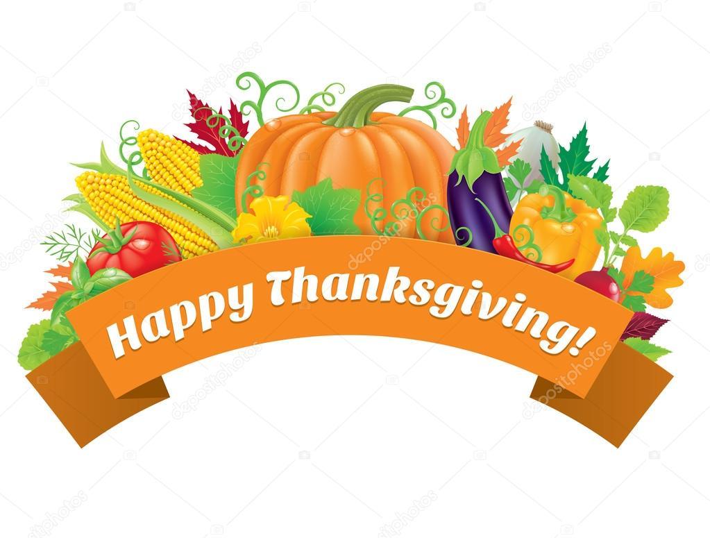 Happy Thanksgiving Greetings Stock Vector Pinkkoala 81545474
