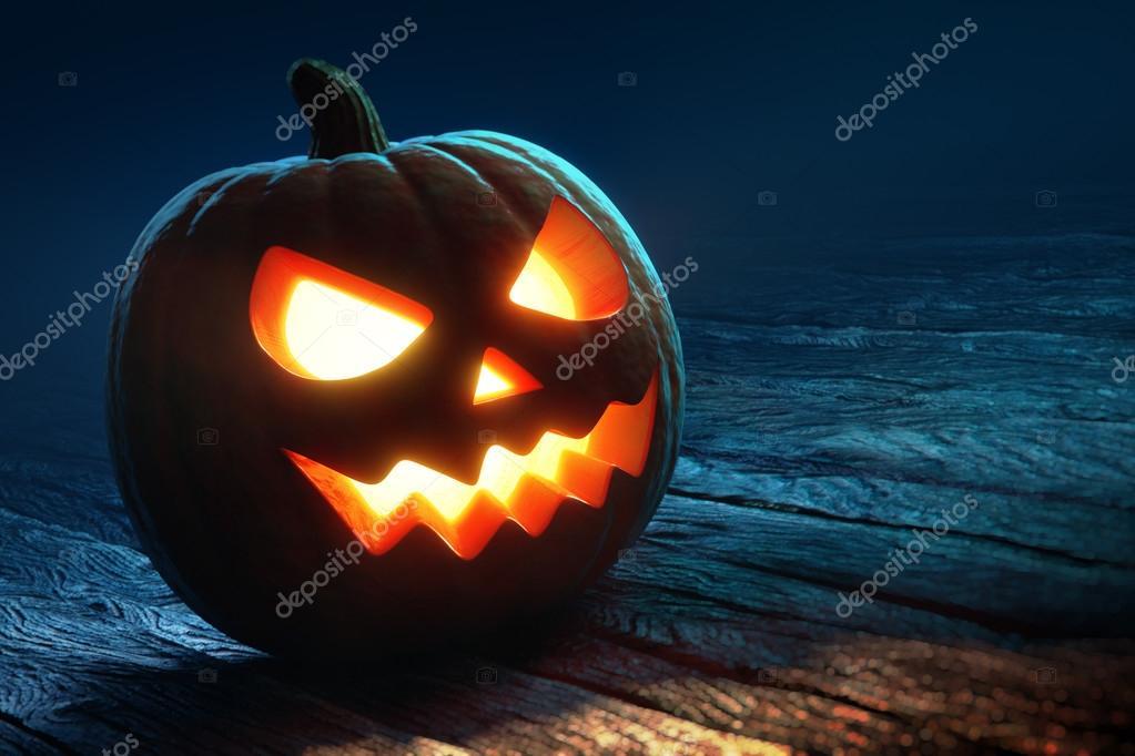 Halloween pumpkin -  jack o'lantern
