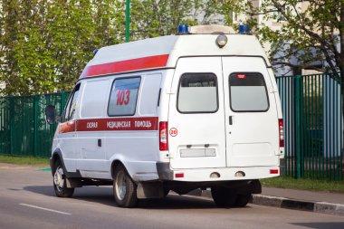Russian ambulance car