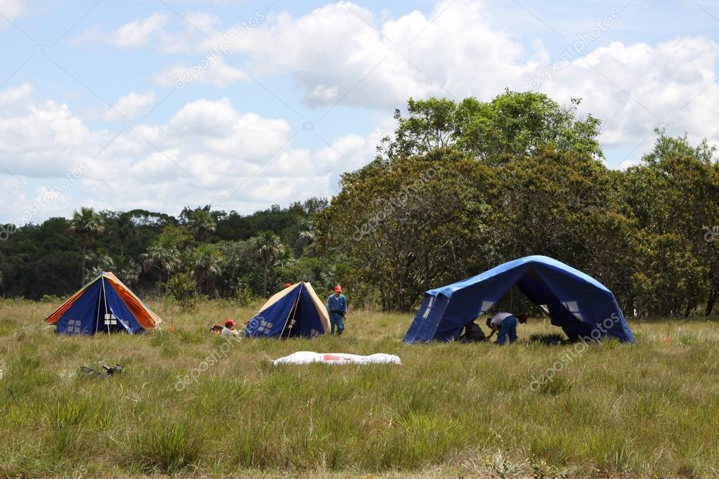 The boy scout camp near the town of San Jose Del Guaviare