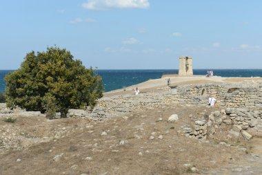 Ancient Greek Chersonesus Taurica near Sevastopol in Crimea.
