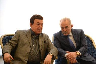 Iosif Kobzon and Aslambek Aslakhanov
