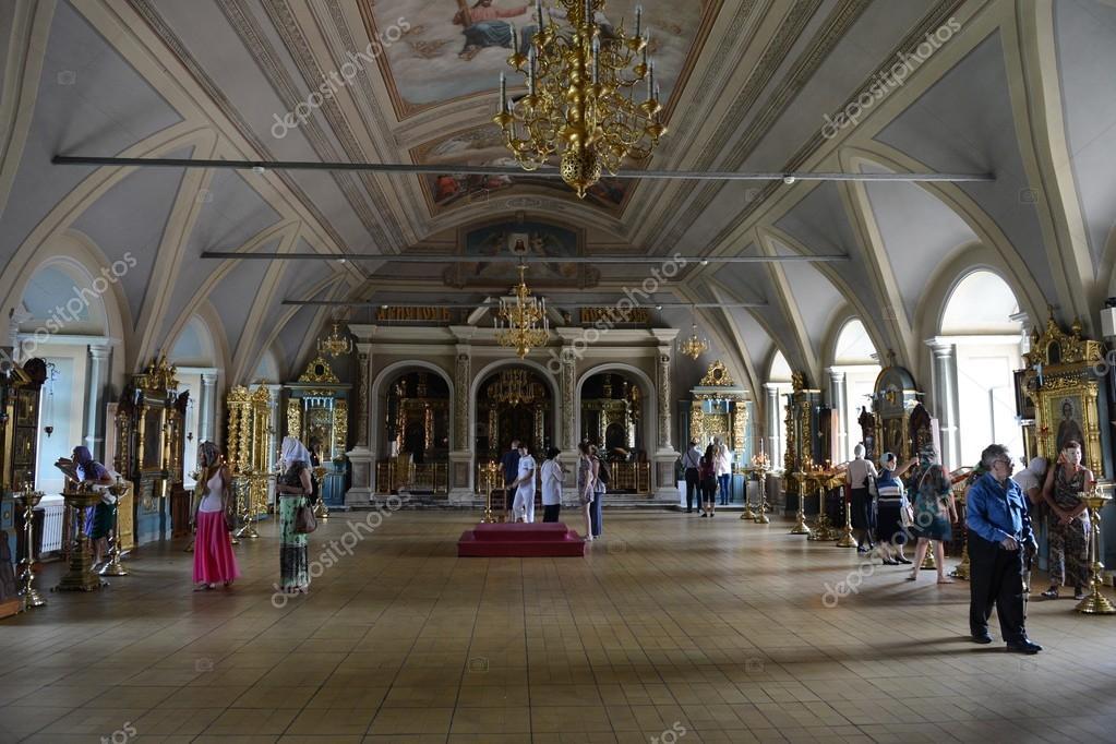 Moscou couvent de novodievitchi int rieur de l for Interieur d un couvent