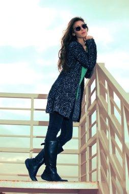 winter fashion woman