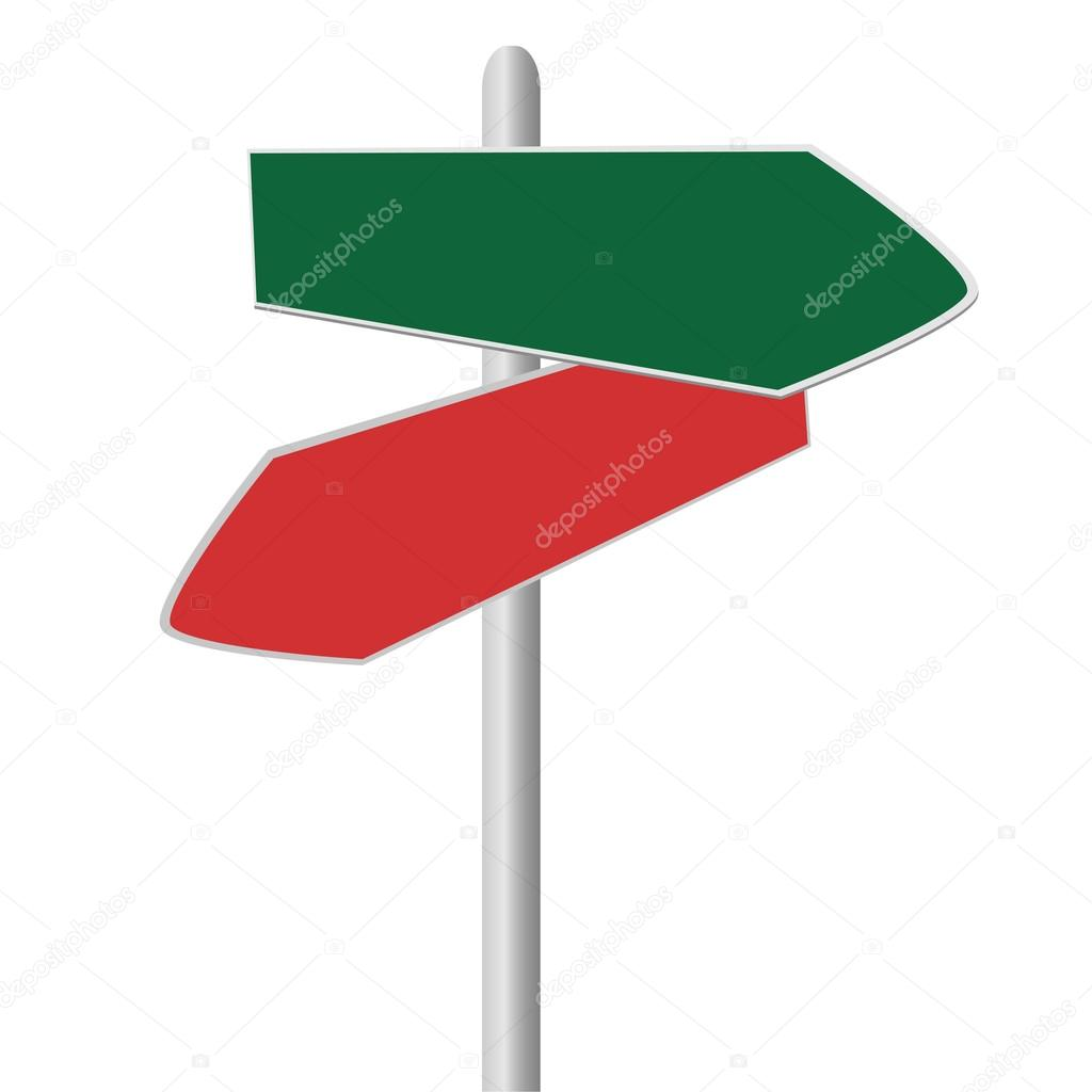 direction signpost stock vector oxfordsquare 83054772