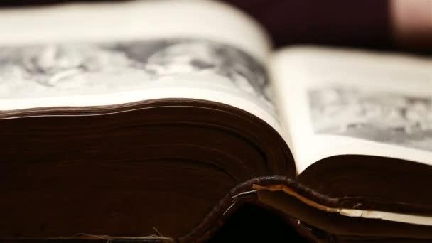 Flipping Through An Old Book