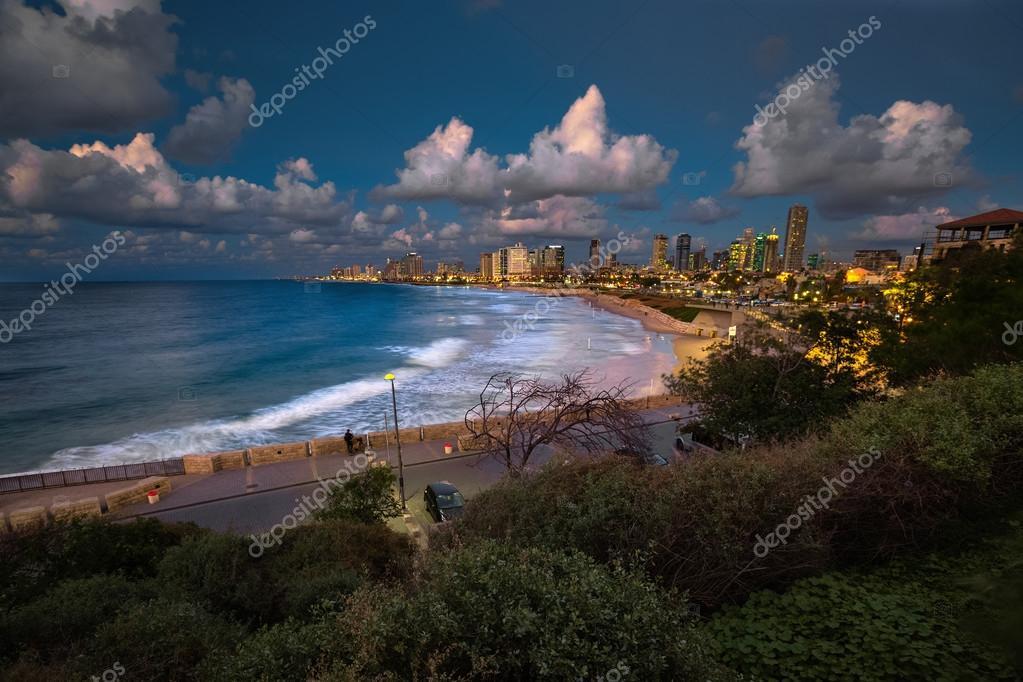 Фотообои Города Тель-Авив от побережья